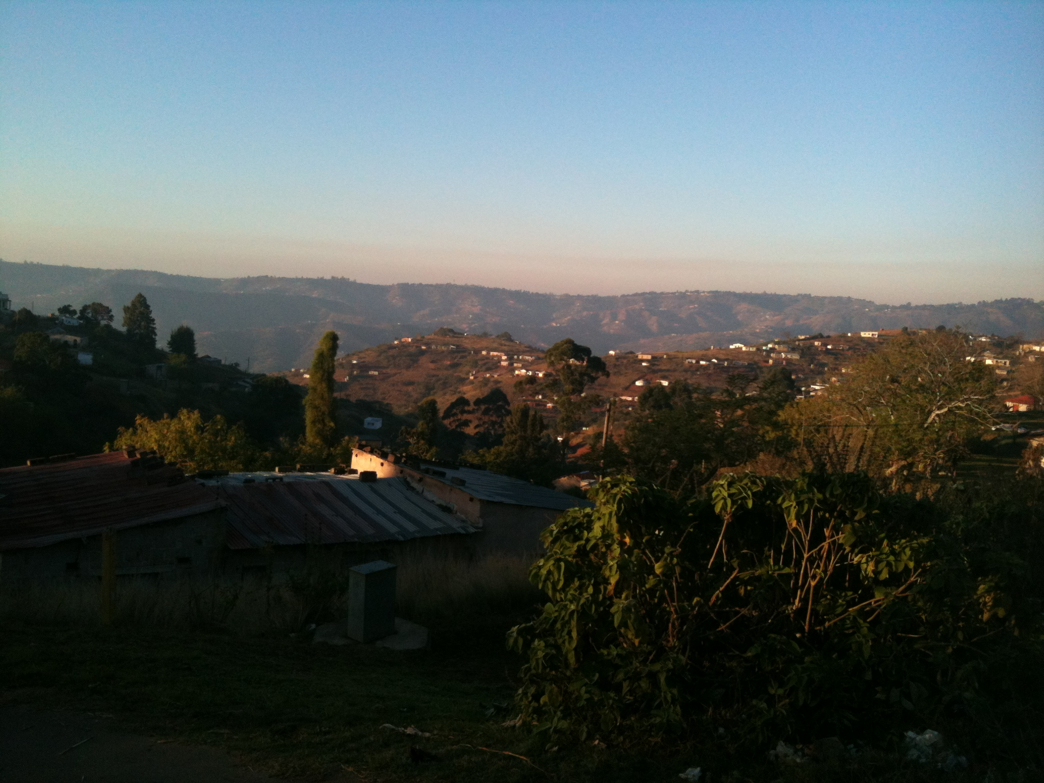View of the valley of 1000 hills
